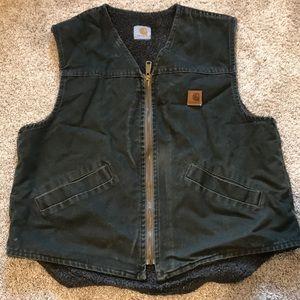 Carhartt Sherpa lined vest